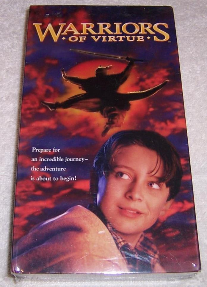 Warriors of Virtue VHS Video NEW SEALED