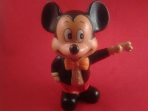 Vintage Disney Mickey Mouse Toy Bank