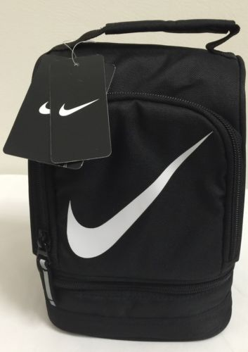 New Nike Lunch Tote Black White