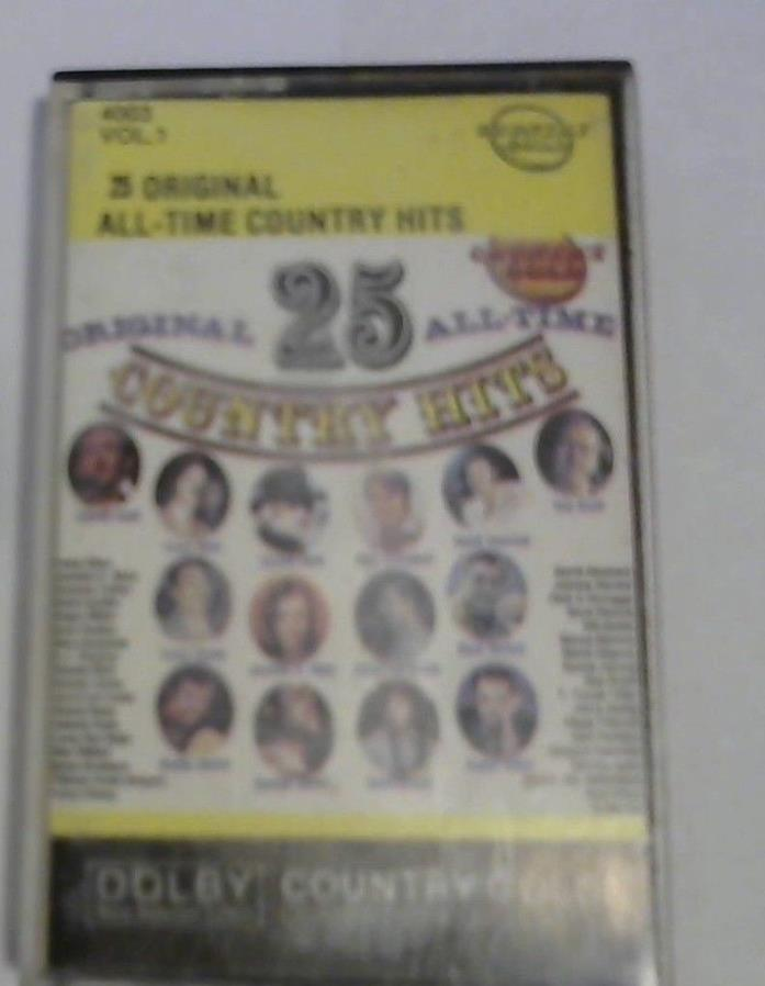 All-Time Greatest Hits of Country, Vol. 1 by Various Artists (Cassette, Oct-1991