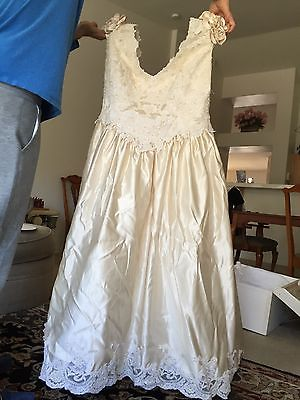 Ilissa by Demetrios Plus Size Wedding Dress Gown Size 24 & Veil.  GORGEOUS!!!