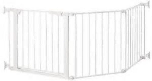 2 door gate section Command Pet Custom Fit Gate, good for odd-shaped areas
