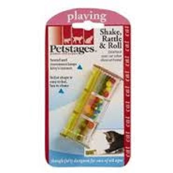 Petstages  SHAKE, RATTLE & ROLL Cat toy
