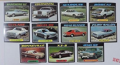 Topps Autos Of 1977 Trading Card Lot #2