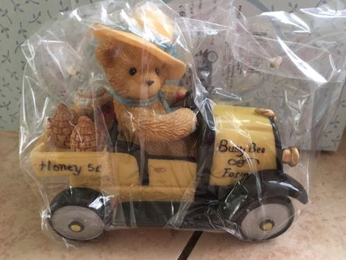 Cherished  Teddies Bert I'm Busy As A Bee Every Day Of The WEEK #790192 BNIB
