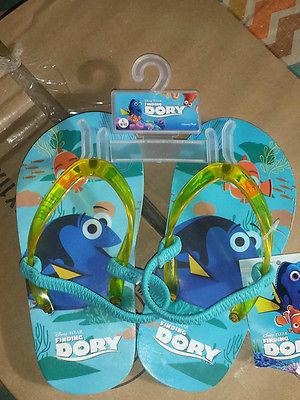 Disney Dory Toddler FLip Flops   Size 9 / 10   NWT