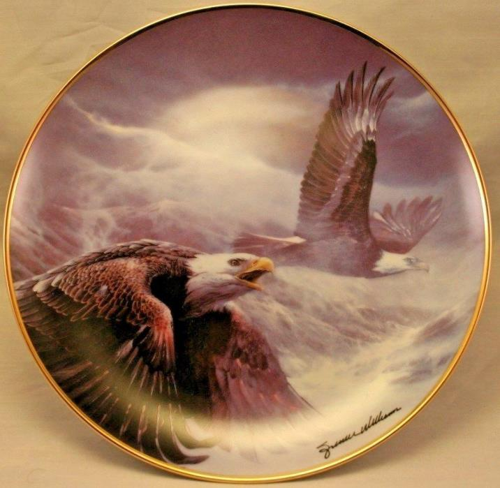 Power And Majesty Franklin Mint Heirloom Collection Eagle Collector Plate No COA