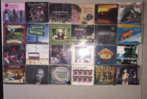 Mixed Lot Of Cds New And Sealed 24 Cds