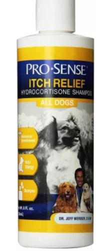 Pro-Sense Itch Relief Hydrocortisone Shampoo, 8-Ounce EXP 7/2019
