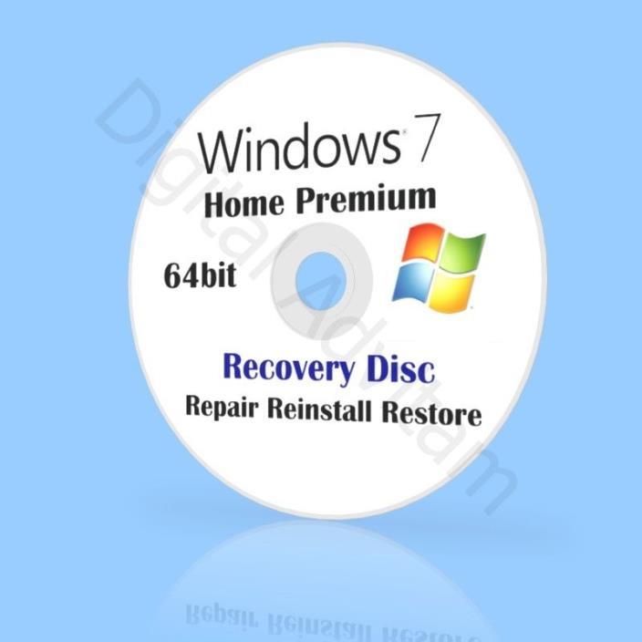 windows 7 home premium repair