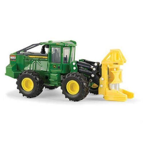 John Deere 1/50 843L Wheeled Feller Buncher Prestige Diecast Logging Toy