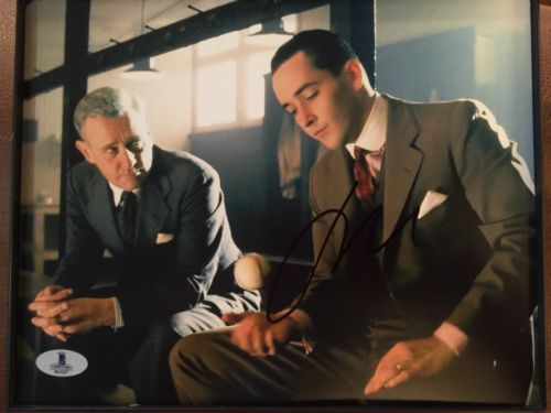 JOHN CUSACK SIGNED EIGHT MEN OUT BECKETT BAS COA 8X10 PHOTO blowout sale price