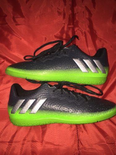 Kids Adidas Lionel Messi Indoor Soccer Shoe Size 1.5