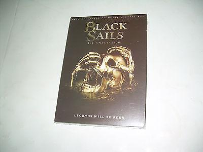 Complete Fourth & FINAL Season 4 Four NEW BLACK SAILS (DVD, 2017, 3 DISC SET)
