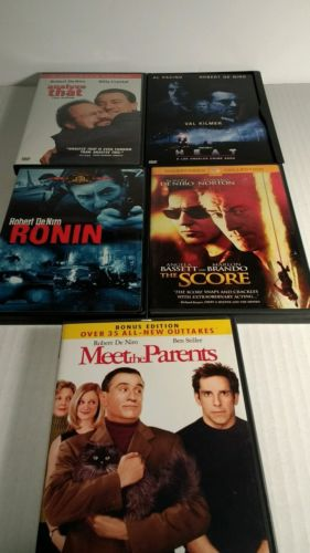 Robert DeNiro Films(DVD Lot of 6)