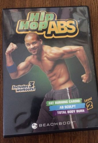 Hip Hop Abs by Beachbody DVD  Level 2 Includes 3 Workouts