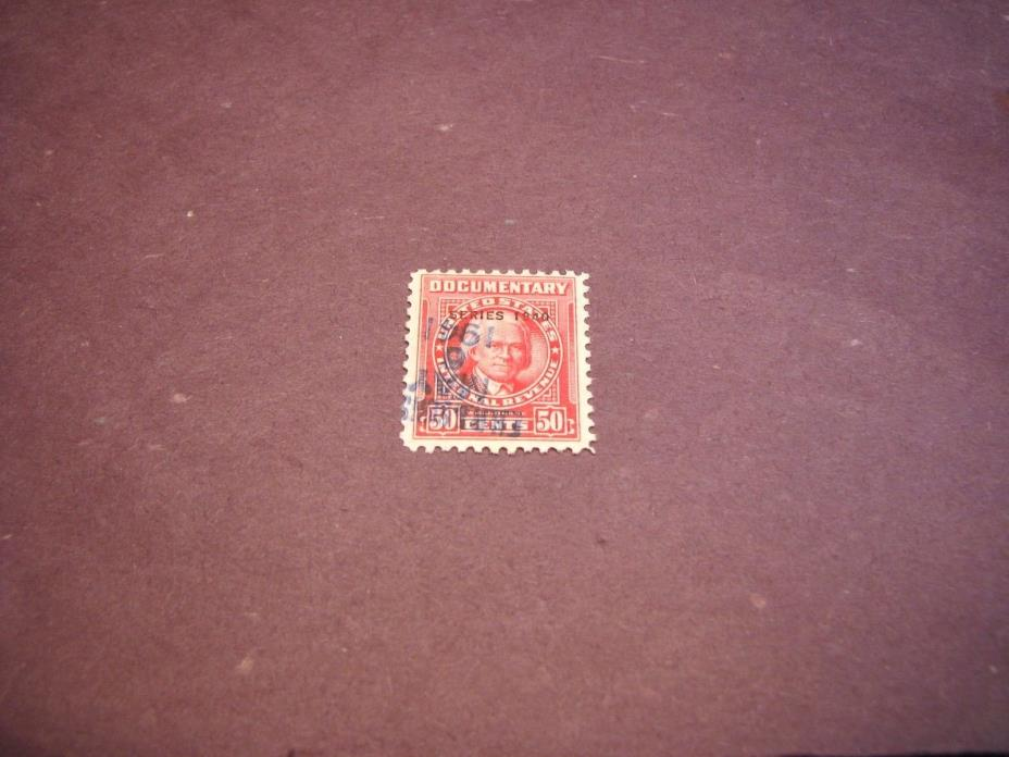 US Stamp Back of Book Scott# R298 Duane 1940  C222