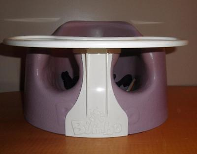 Purple Violet BUMBO Baby Booster Feeding Chair Seat with Play Tray