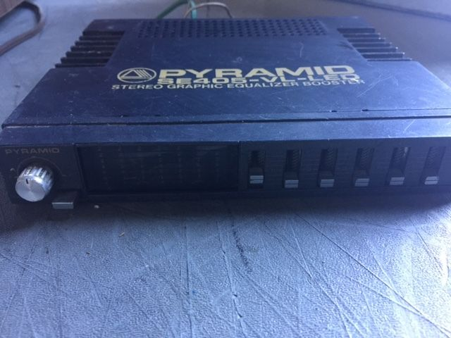 Pyramid Graphic Equalizer - For Sale Classifieds