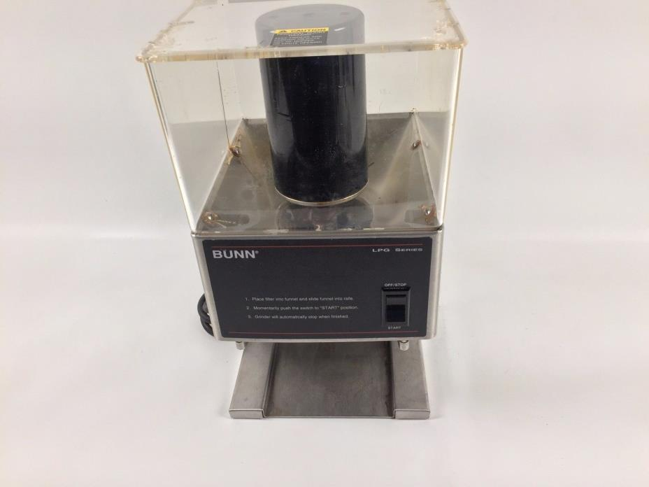 Bunn Commercial Coffee Grinder ~ Bunn commercial coffee grinder for sale classifieds