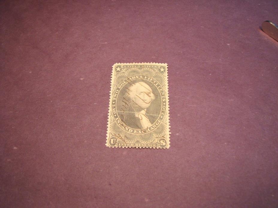US Stamp Back of Book Scott# R84 Inland Exchange 1862-71 C222