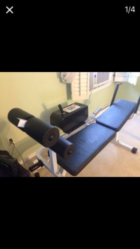 Power crunch 500 ab workout bench