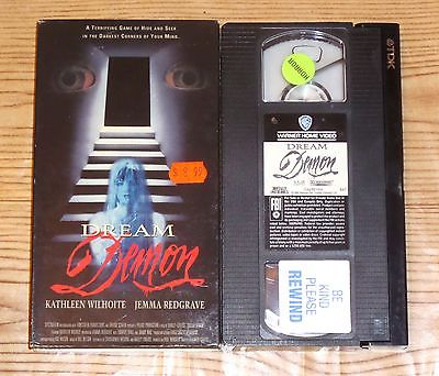 Dream Demon (1988, VHS) A British Nightmare Elm Street rip-off OOP RARE
