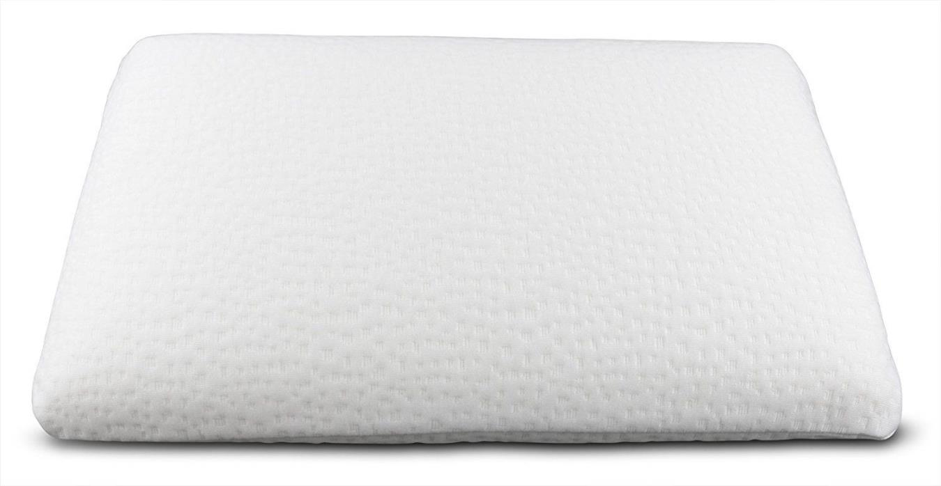 "Just My Height ""Ultra Slim"" Full Size Memory Foam Pillow 24"