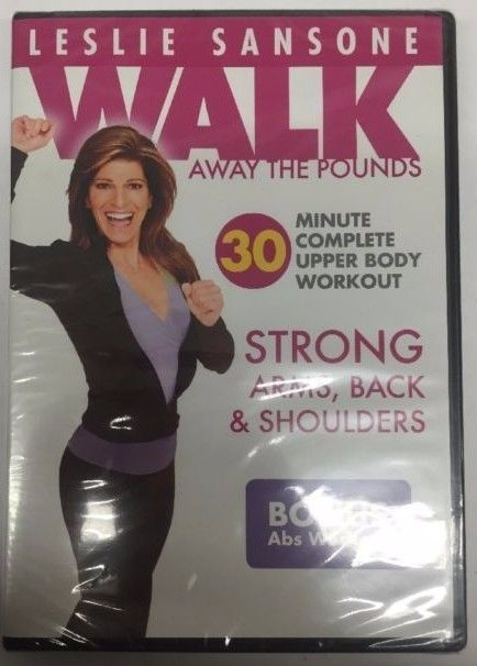 LESLIE SANSONE WALK AWAY THE POUNDS 30 MINUTE COMPLETE UPPER BODY & ABS WORKOUT