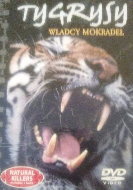 NEW! TYGRYSY WLADCY MOKRADEL [DVD]  IN POLISH SWAMP TIGERS W BOOKLET