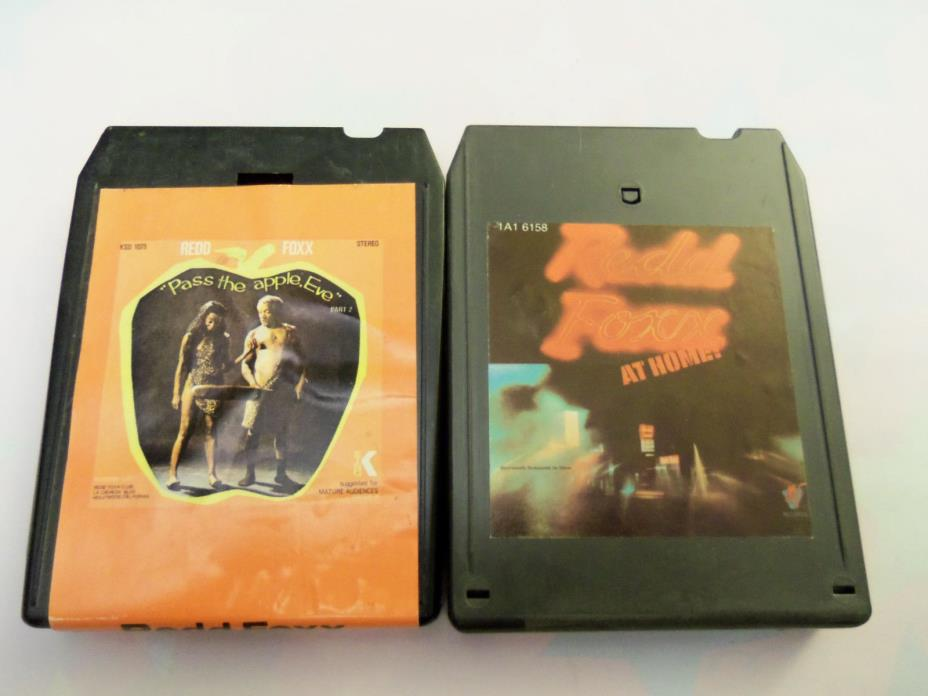 REDD FOXX - Pass the Apple, Eve & At Home on 8-Track Tape