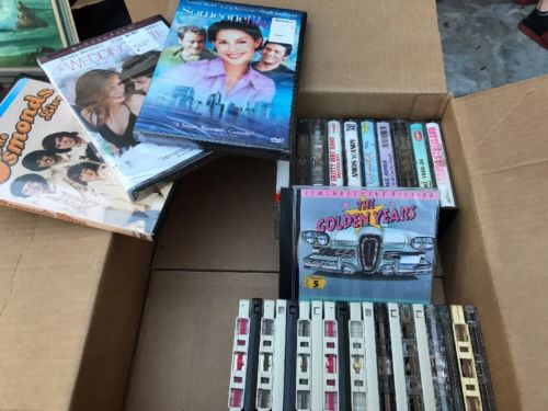 Movies Dvd and cassette tape Lot
