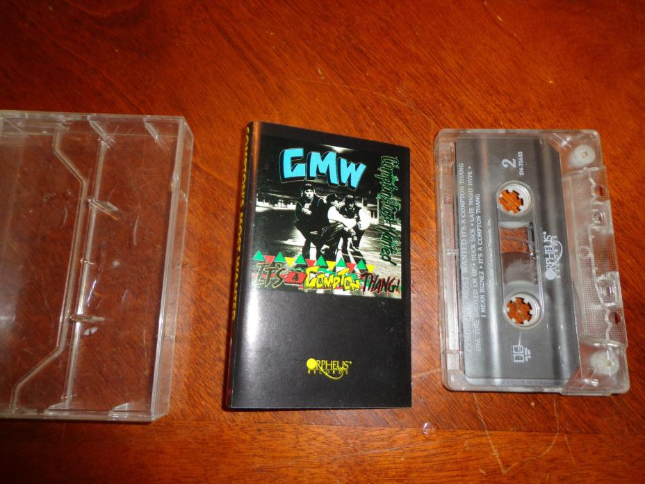 Compton's Most Wanted It's a Compton Thang Tape Cassette Album, Edited version