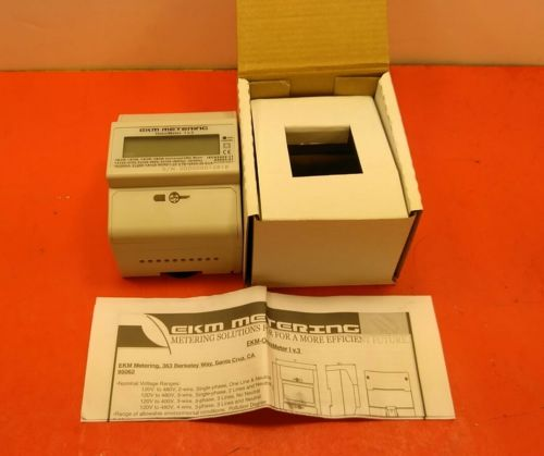 EKM Omnimeter I v.3 - Universal kWh AC Power Meter 3-phase or single-phase. 5A