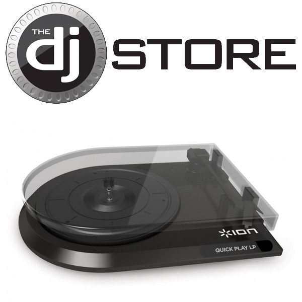 ION Quick Play LP Digital Conversion Turntable with RCA Outputs