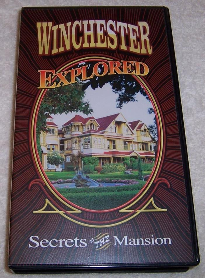 Winchester Explored Secrets of the Mansion VHS Video mystery house San Jose, CA