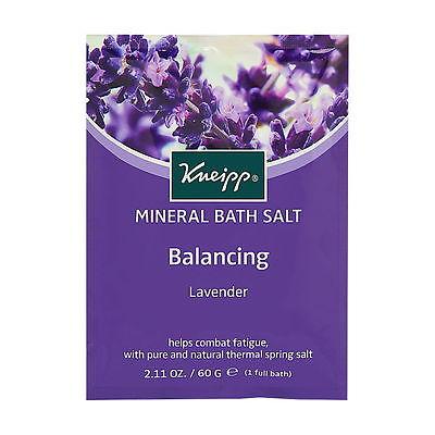 Kneipp Mineral Bath Salt 1 Pouch - Lavender - Balancing Brand New