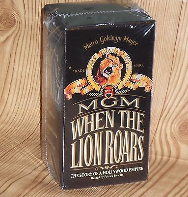 MGM When the Lion Roars (VHS, 3-Tape Box Set) Metro Goldwyn Mayer NEW/SEALED