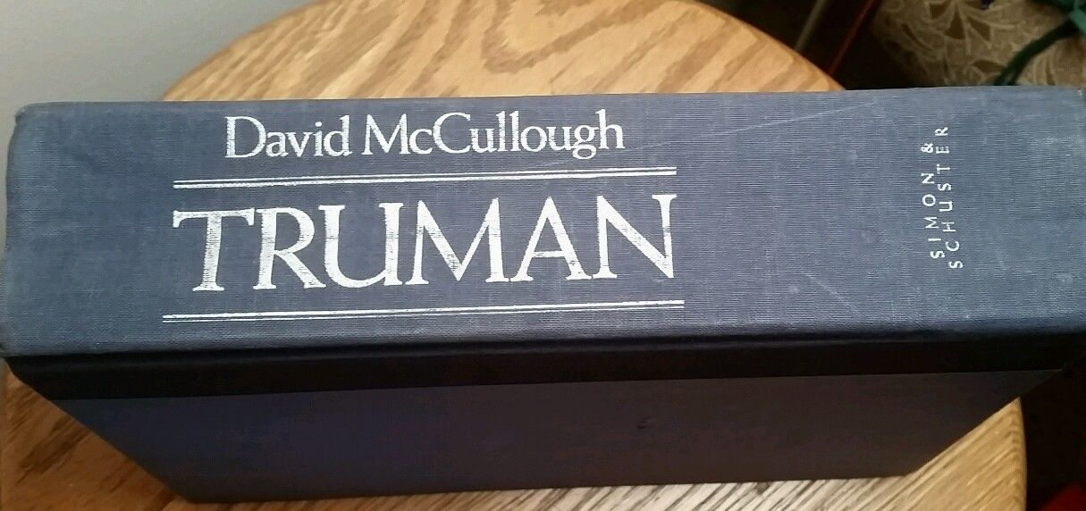 Truman by David McCullough (Hardcover, No Dust Cover)