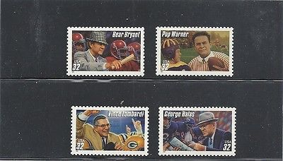 #3143-46 - Legendary Football Coaches - US Mint Stamps