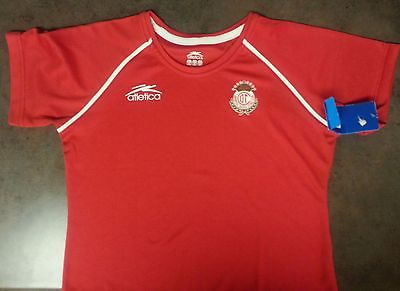Atletica Authentic Diablos Toluca Mexico Women Soccer Jersey Shirt Futbol XL