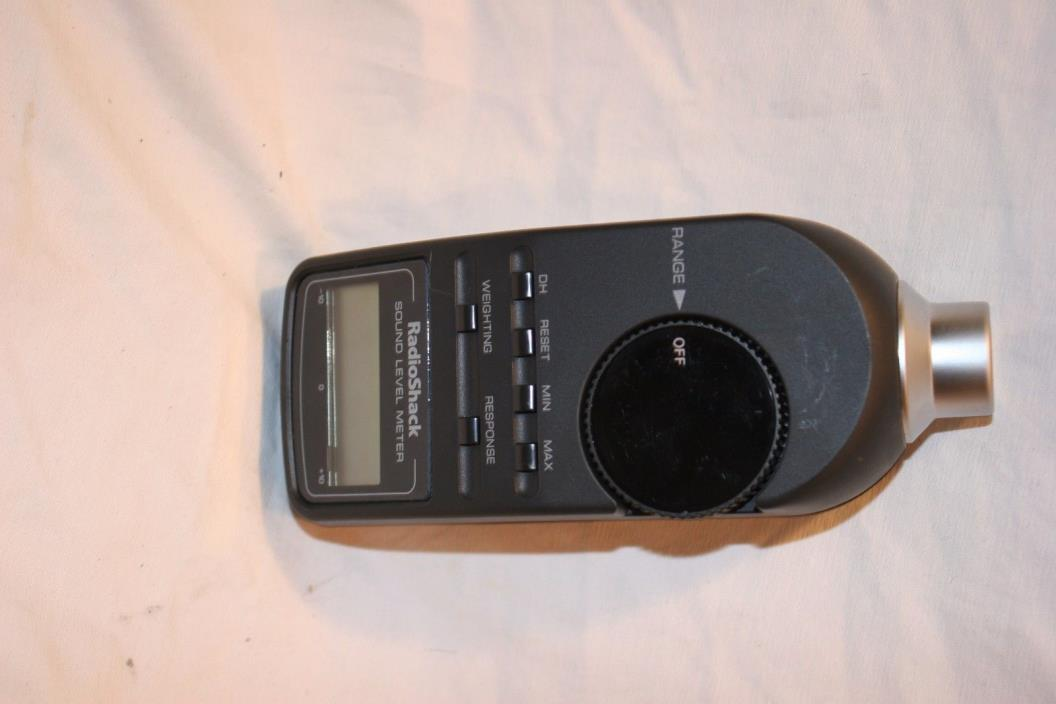 Radio Shack Digital Sound Level Meter SPL Meter 30-2055