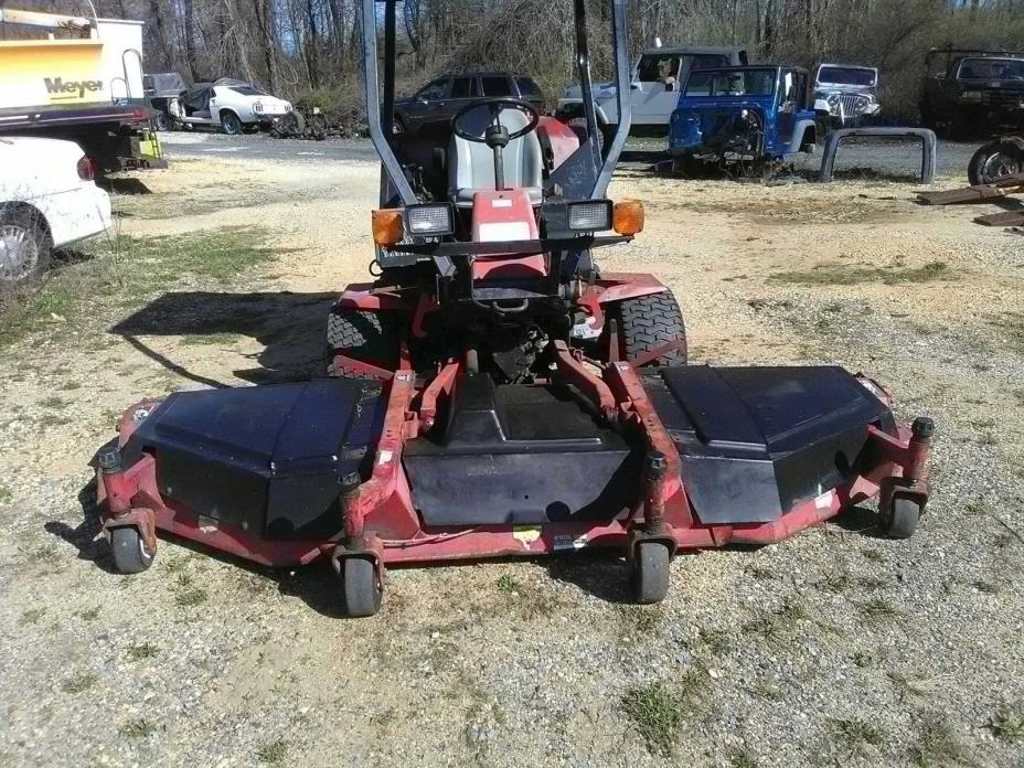 Toro Groundsmaster 455-D Riding Mower 10.5 ft cut, 4 cylinder, diesel, 2500 hour