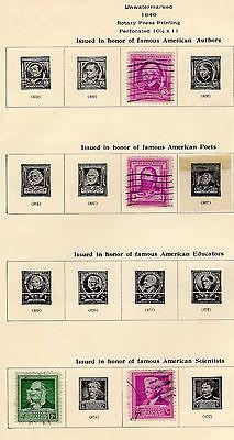 United States Stamps 1940 -1956 Scott 1075