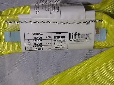 240864 LIFTEX ENR3-08 8 YELLOW ENDLESS ROUND SLING