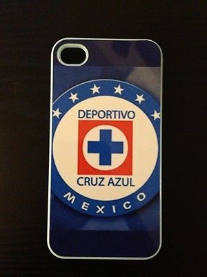 BRAND NEW MEXICAN CRUZ AZUL HARD CASE COVER FOR APPLE IPHONE 4 4S