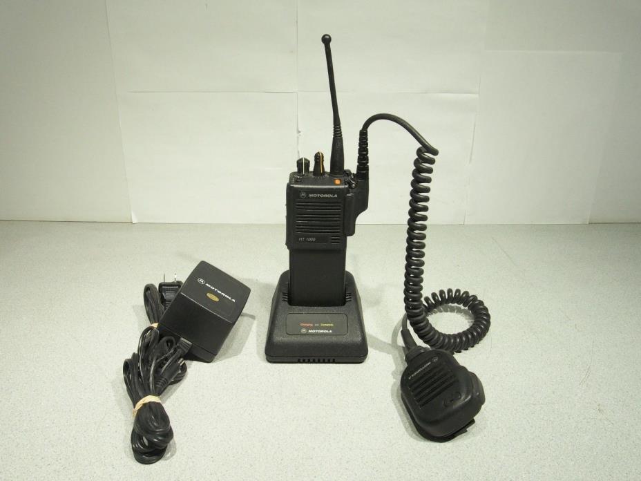 Motorola HT1000 450-520Mhz 16Ch 4W NarrowBand Radio H01SDC9AA3DN AZ4890FT4780