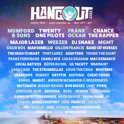 Hangout Music Festival 3-Day Wristband