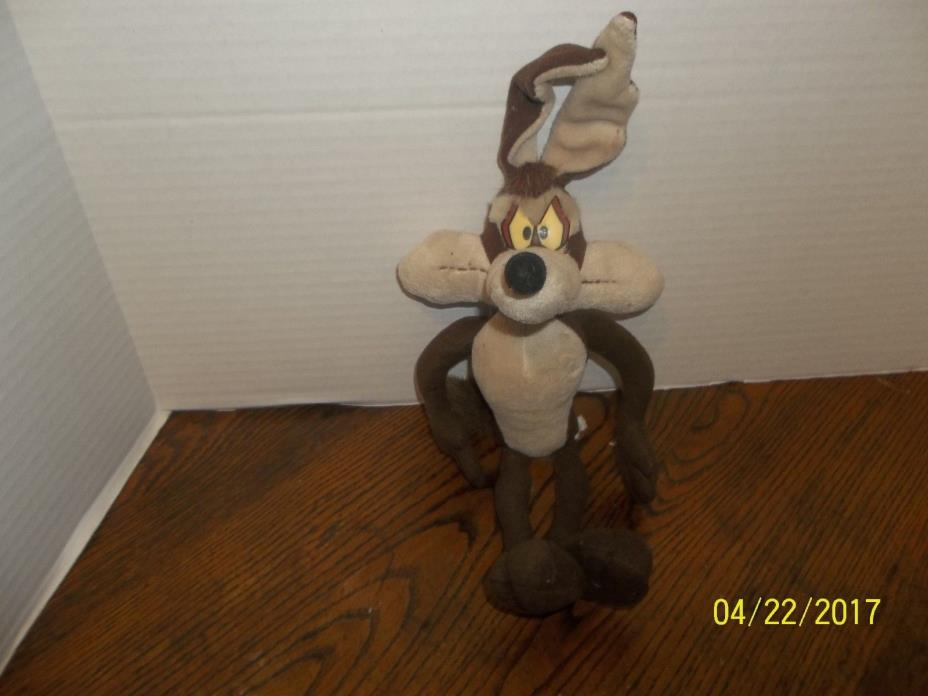 APPLAUSE WARNER BROS LOONEY TUNES WILE E COYOTE PLUSH 16