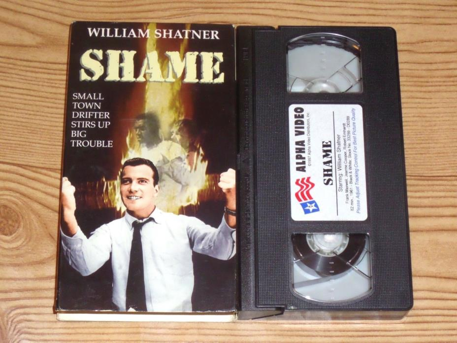 The Intruder [AKA Shame] (VHS, 1962) William Shatner, Roger Corman RARE